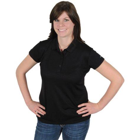 Columbia® Women's Innisfree Short Sleeve Polo - Black