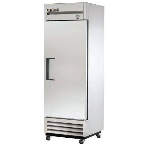 True 1-Door Stainless Steel Reach-In Refrigerator - 19 cu. ft.