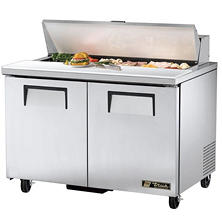 True 2-Door Stainless Steel Sandwich/Salad Prep Unit - 48""