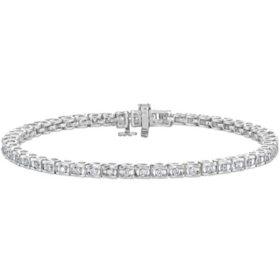 1 CT. T.W. Ribbons Diamond Bracelet in 14K Gold (H-I, I1)
