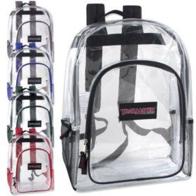 "Trailmaker 17"" Backpacks - Clear - 24 ct."