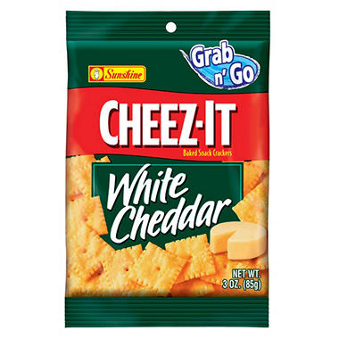 Cheez-It White Cheddar - 3 oz. Bag - 12 ct.