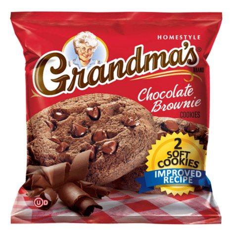 Grandma's Fudge Chocolate Chip Cookie - 2 cookie per pk. - 60 ct.