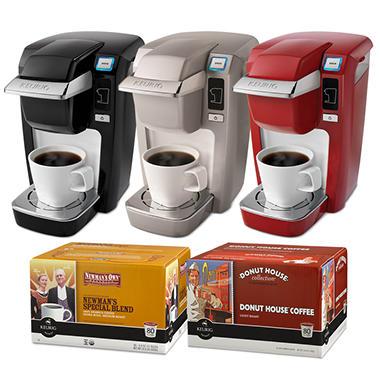 Keurig Bundle - B31 Coffeemaker with 92 K-Cups