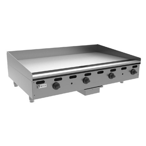 "Wolf AGM36 36"" Natural Gas Manual Countertop Griddle"