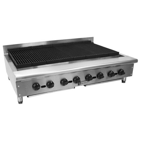 """Wolf ACB36 36"""" Natural Gas Countertop """"Achiever"""" Charbroiler"""