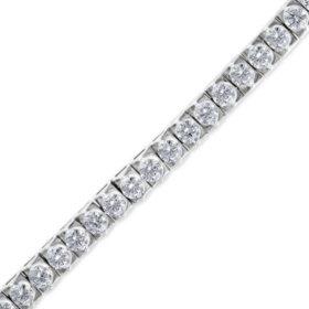 7 CT. T.W. Diamond Tennis Bracelet in 14K Gold H-I, I1