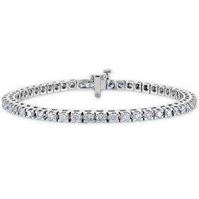 2.78 ct. t.w. Diamond Tennis Bracelet in 14K Gold (H-I, I1)