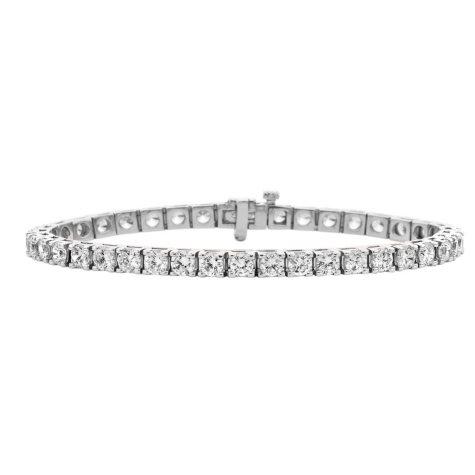 1.85 CT. T.W. Diamond Tennis Bracelet in 14K Gold (H-I, I1)