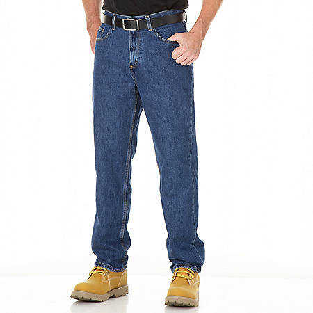 Member's Mark Relaxed Fit Medium Wash Blue Jeans