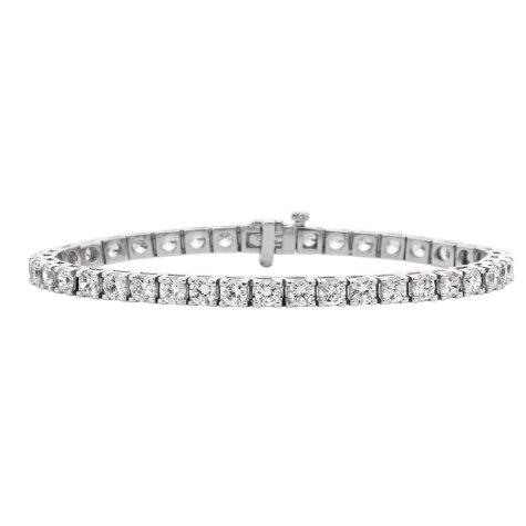 7.50 ct. t.w. Diamond Tennis Bracelet in 14K Gold (H-I, I1)