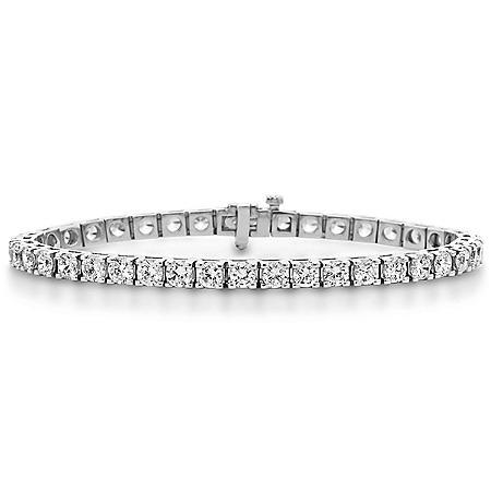 Diamond Tennis Bracelet in 14K Gold (H-I, I1)