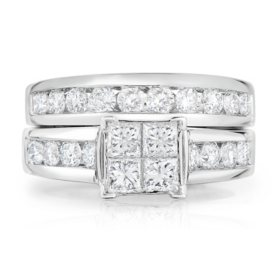 1.95 CT. T.W. Diamond Ring in 14K White Gold (HI,I1)