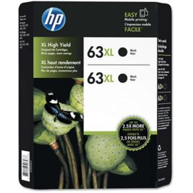 HP 63XL, (L0R43BN) High-Yield Black Original Ink Cartridge
