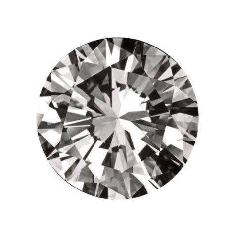 0.33 ct. Round-Cut Loose Diamond (H, IF)