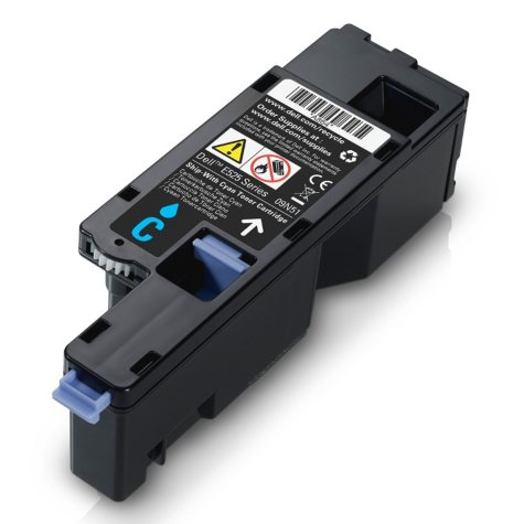 Dell H5WFX Toner Cartridge, Cyan (1,400 Yield)