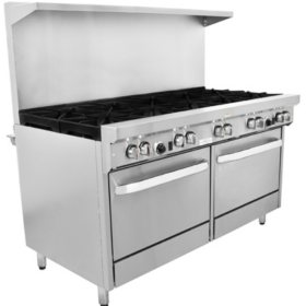 "Gusto Restaurant Range, Natural Gas (10 Burner, 60"")"
