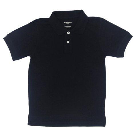 Eddie Bauer Boys Short Sleeve Polo Shirt - Various Colors