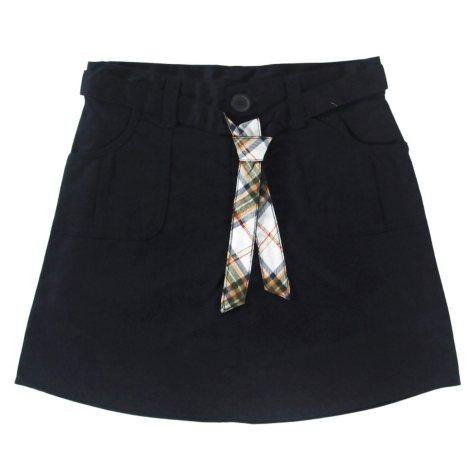 Eddie Bauer Girls School Uniform Belted Skort