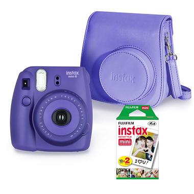 fujifilm instax mini 8 camera bundle with camera. Black Bedroom Furniture Sets. Home Design Ideas