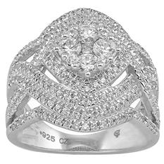 1.50 CT. T.W. Diamond 14 Karat White Gold Ring (I, I1)