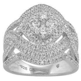1.50 CT. T.W. Diamond 14 Karat White Gold Ring (I, I1)