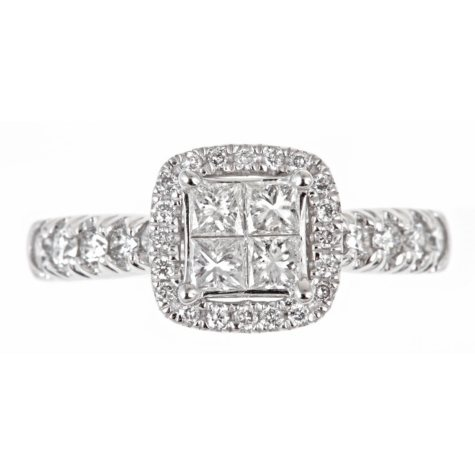 1.00 ct. t.w. Regal Princess Diamond Engagement Ring (I, SI2)