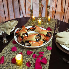 Romantic Stone Crab Dinner, Colossal (5 lb.)