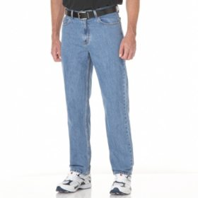 Member's Mark Relaxed Fit Light Stonewash Blue Jeans