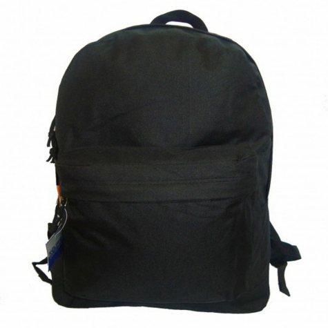 """HV 18"""" Backpacks - Black - 30 pk."""