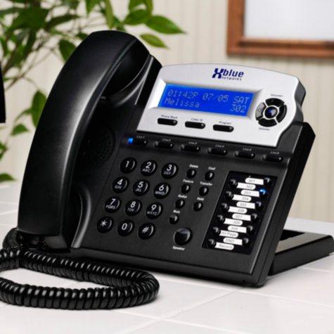 XBlue Charcoal Telephone