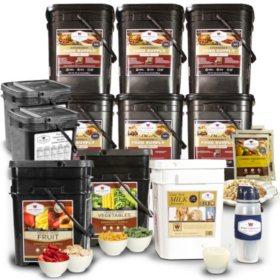 Wise Company Deluxe 1 Year Supply for 1 Adult or 3 Month Supply for 4 Adults