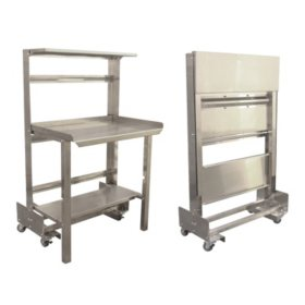 "Prairie View Mobile, Roll-Away, Retractable, Prep Station - 36"" or 48"""
