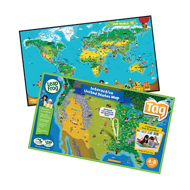 LeapFrog® Tag™ Interactive Maps Bundle