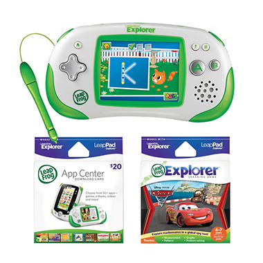 LeapFrog® Leapster Explorer™ Bundle - Green