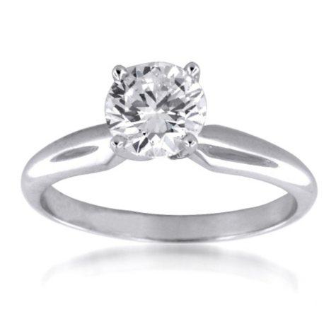 1.51 ct. Round Diamond Solitaire Ring (G, VS2)