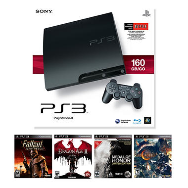 PlayStation 3 160GB Console with 1 Bonus Game