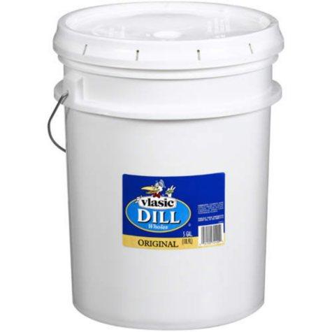 Vlasic® Original Whole Dill Pickles - 5gal