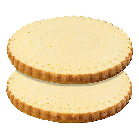 """10"""" Presoaked Tres Leches Layers, Bulk Wholesale Case (6 ct.)"""