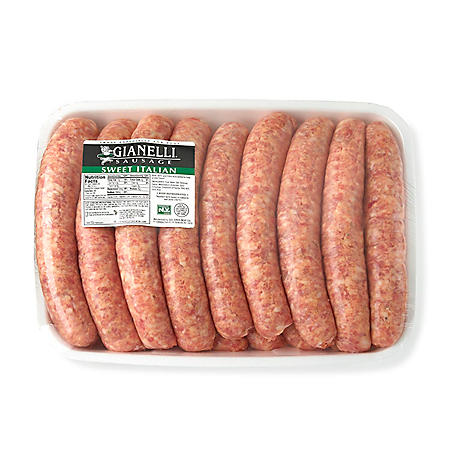 Gianelli Sweet Italian Pork Sausage Links (priced per pound)