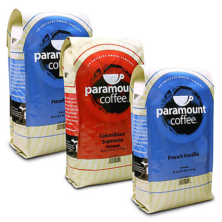 Paramount Coffee, Assorted Flavors (2.5 lb.)