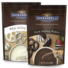 Ghirardelli Chocolate Melting Wafers Combo - 2 pk.