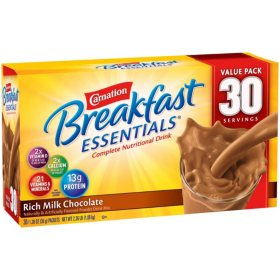 Carnation Breakfast Essentials Nutritional Drink Mix, Chocolate (30 ct.)