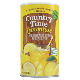 Country Time Lemonade Mix, 82.5 oz. Cannister (makes 34 qts.)