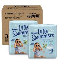 Huggies Little Swimmers Swim Pants Bundle (Choose Your Size)
