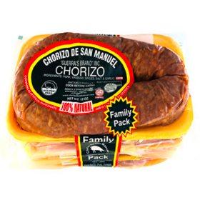 Chorizo De San Manuel Pork Chorizo Family Pack (12 oz. per pk., 4 pk.)