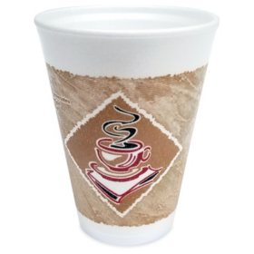 Gold Medal Insulated Coffee Cups, 12 oz. (1,000 ct.)