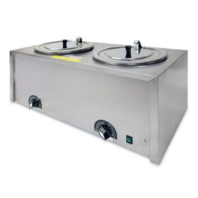 Gold Medal® Twin Caramel Apple Dip Warmer