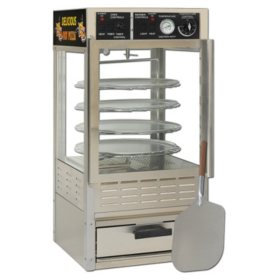 Gold Medal® 5552PZ Humidified Pizza Oven Combo