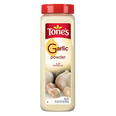 Tone's 21 oz. Garlic Powder - 12 pk.